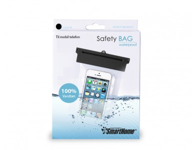 SmartHome vandtæt pose til mobilen