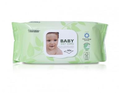 SmartKids Baby wipes 60stk